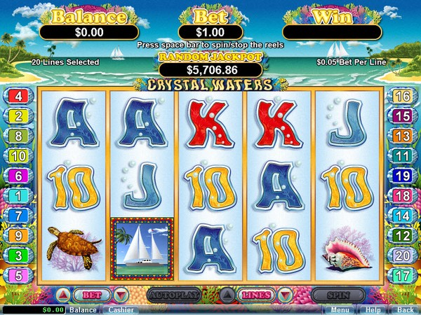 Ace Pokies Casino Screenshot