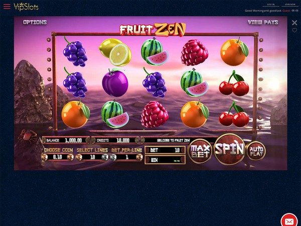 VIP Slots Casino Screenshot